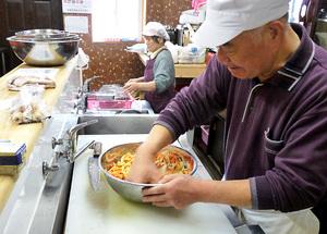 障がい福祉サービス事業所いしじ-お弁当作業